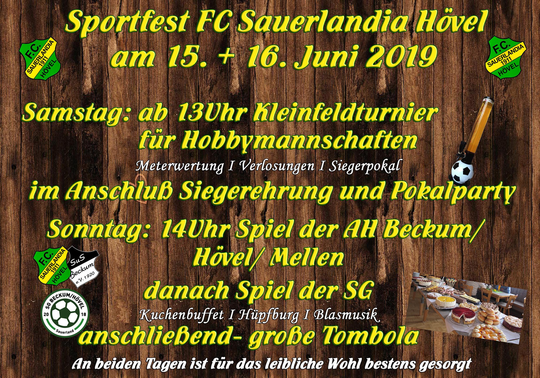 Sportfest FC Sauerlandia 2019